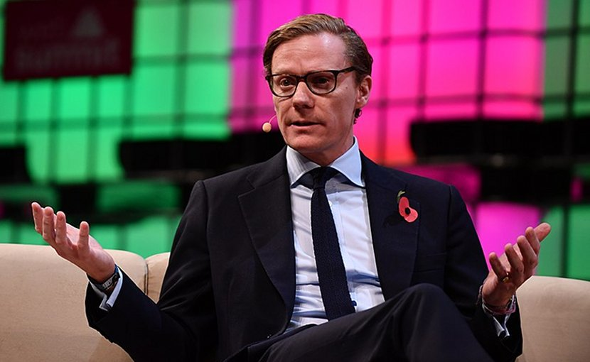 Alexander Nix. Photo Credit: Web Summit, WIkimedia Commons.