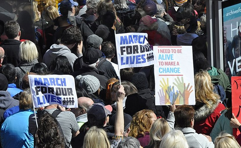March for Our Lives. Photo by Jarek Tuszyński, Wikipedia Commons.