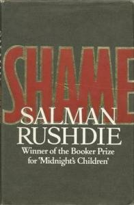 "Salman Rushdie's novel ""Shame."""