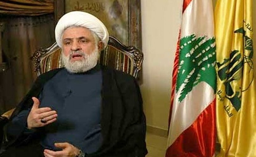 Lebanese Hezbollah Resistance Movement's second-in-command, Sheikh Naim Qassem. Photo Credit: Tasnim News Agency.