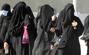 Women in Saudi Arabia.