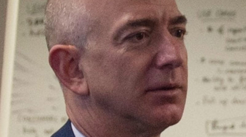 Jeff Bezos. Photo by U.S. Department of Defense photo by Senior Master Sgt. Adrian Cadiz