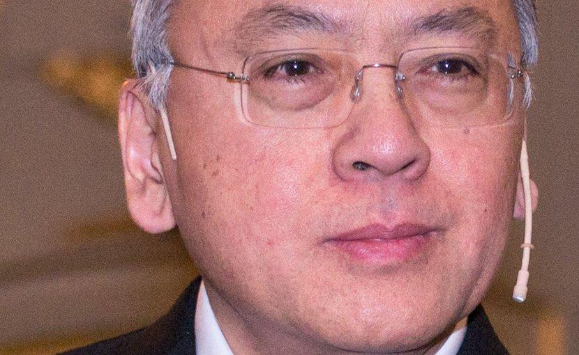 Kazuo Ishiguro. Photo by Frankie Fouganthin, Wikipedia Commons.