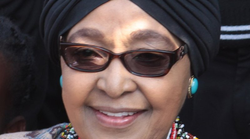 Winnie Madikizela-Mandela. Photo by Superikonoskop, Wikipedia Commons.