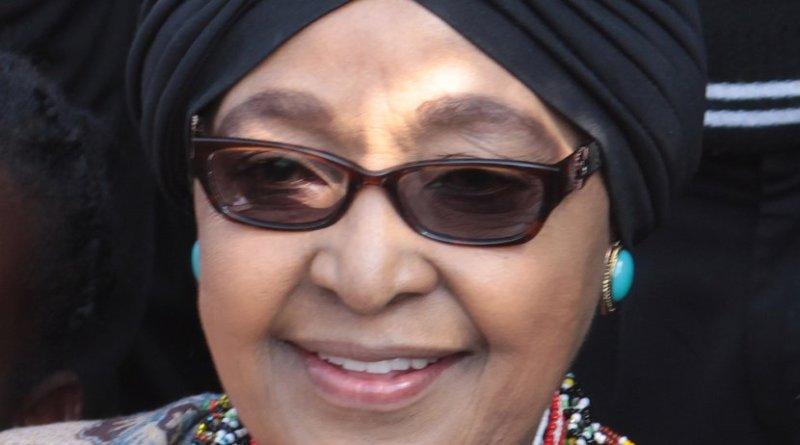 Winnie Madikizela-Mandela. Photo by Superikonoskop, Wikipedia Commons.
