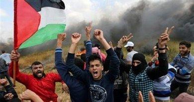Palestine supporters. Photo Credit: Tasnim News Agency
