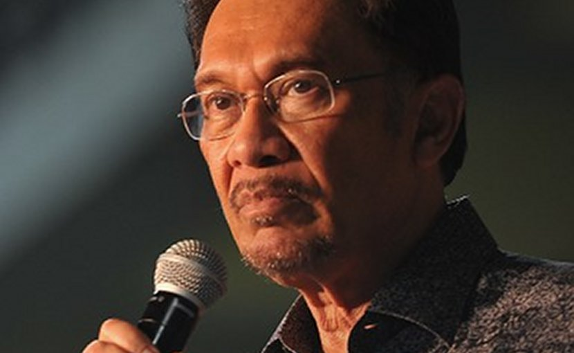 Malaysia's Anwar Ibrahim. Photo by Firdaus Latif, Wikimedia Commons.