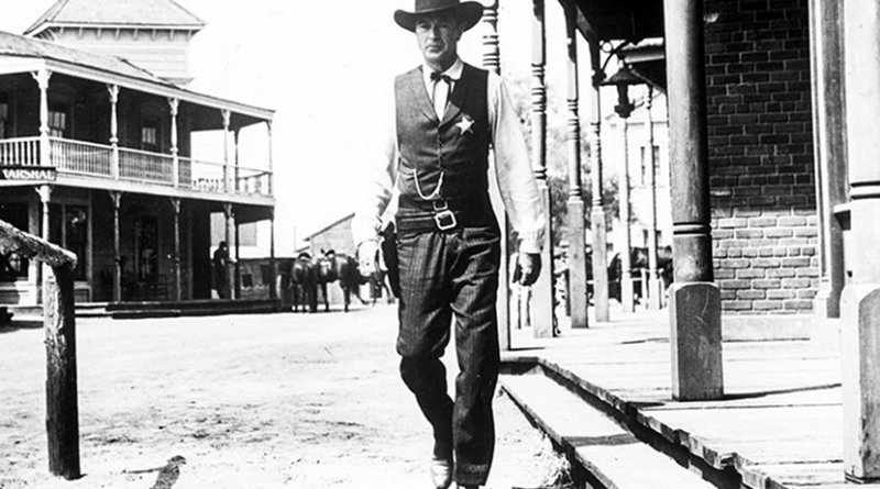 Gary Cooper in 'High Noon', 1952. From Everett Collection.