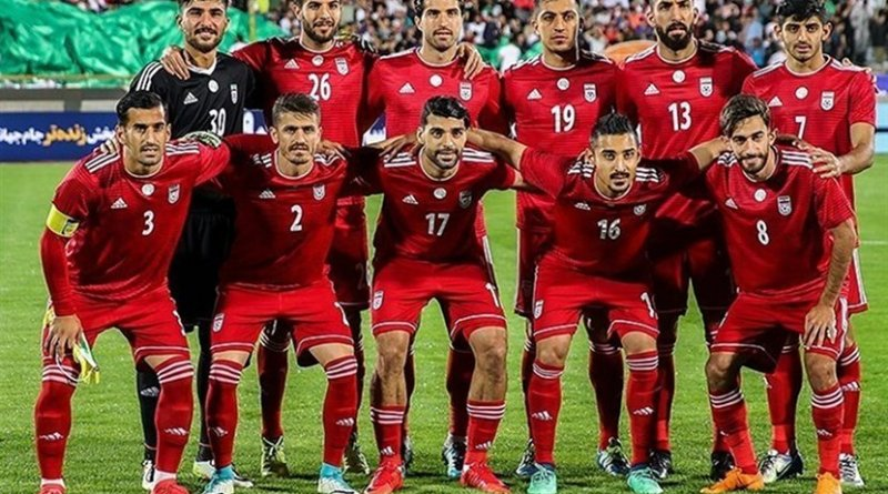 Iran's National Football Team. Photo Credit: Tasnim News Agency.