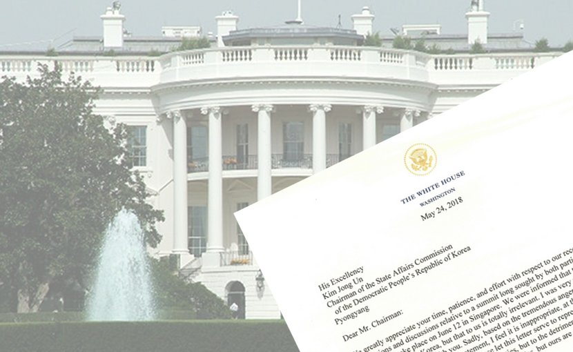 White House President Trump Letter To North Korea Kim