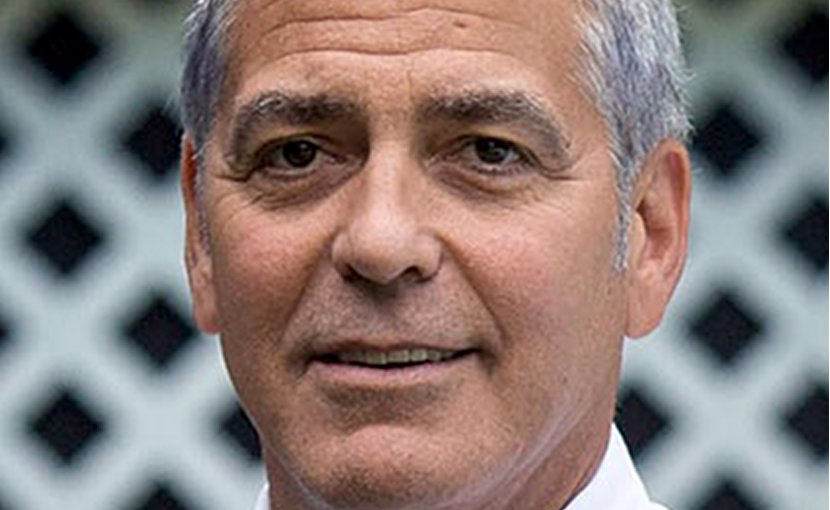 George Clooney. Photo by White House/Pete Souza, Wikipedia Commons.