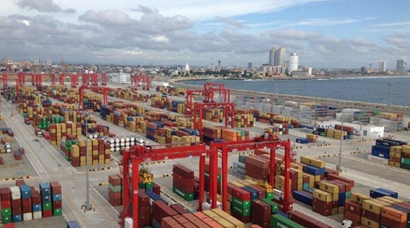 Sri Lanka's Colombo Port. Photo Credit: Sri Lanka government.