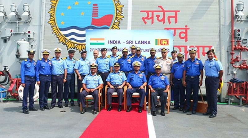 Sri Lanka, India hold 29th International Maritime Boundary Line meeting. Photo credit: Sri Lanka government.