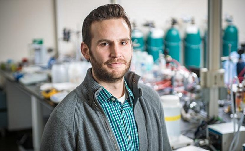 William Phillip, associate professor in the Department of Chemical and Biomolecular Engineering at Notre Dame. Credit Matt Cashore/University of Notre Dame