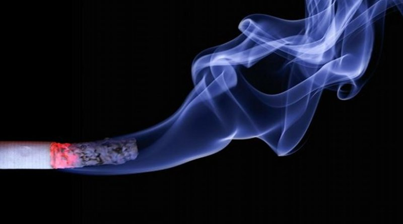 From the mid-1990s to at least 2006, a tobacco company's internal models of addiction regarded psychological, social, and environmental factors as comparable in importance to nicotine in driving cigarette use. Credit realworkhard, Pixabay