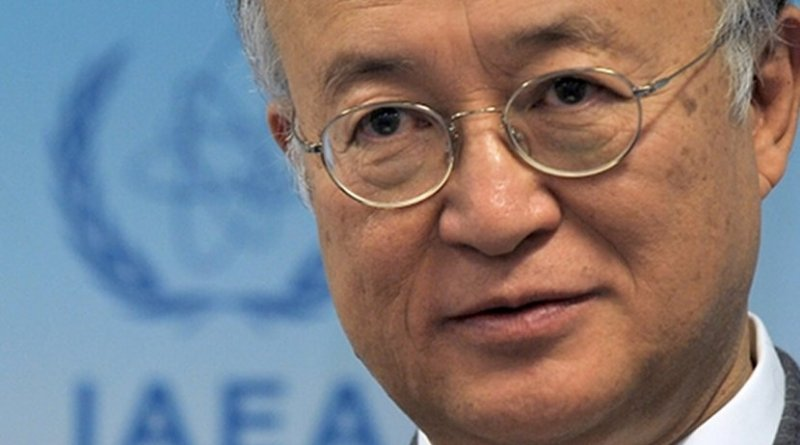 IAEA Director General Yukiya Amano. Photo Credit: IAEA