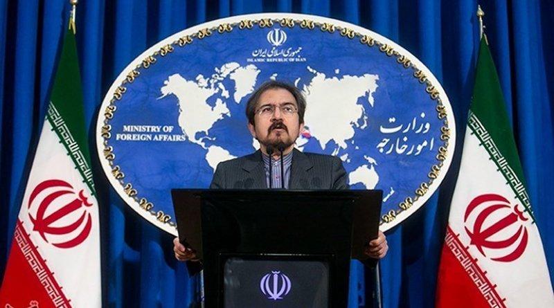 Iran's Bahram Qassemi. Photo Credit: Foad Ashtari, Tasnim News Agency.