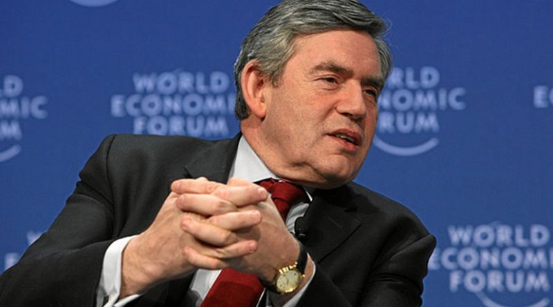 United Kingdom's Gordon Brown. File photo by Remy Steinegger, World Economic Forum, WIkimedia Commons.