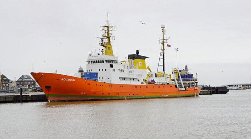 The MV Aquarius. Photo by Ra Boe, Wikipedia Commons.