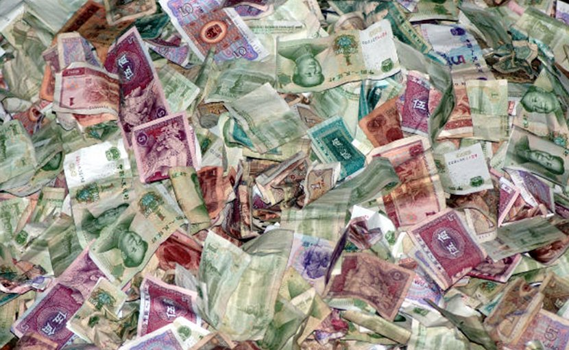 China currency yuan