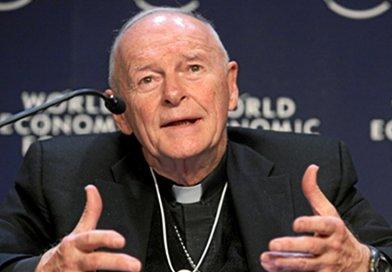 Cardinal Theodore McCarrick. Photo Credit: World Economic Forum, Wikimedia Commons.