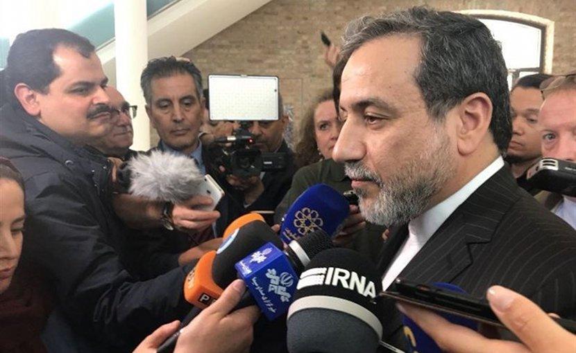 Iran's Deputy Foreign Minister for Political Affairs Seyed Abbas Araqchi. Photo Credit: Tasnim News Agency.