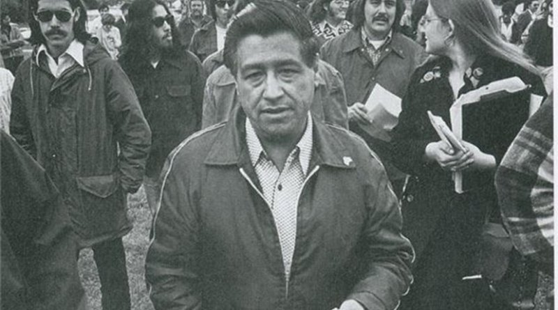 Cesar Chavez. Photo Credit: Movimiento, Wikimedia Commons.