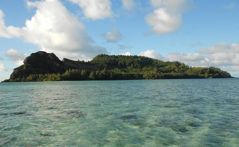 This is Agakauitai Island in the Gambier Archipelago (Mangareva). Credit Jillian A. Swift