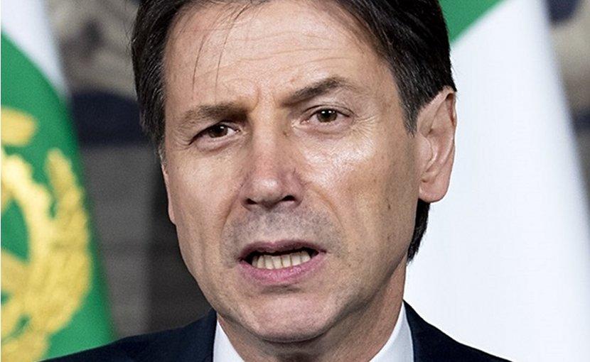 Italy's Giuseppe Conte. Photo Credit: Presidenza della Repubblica, Wikimedia Commons.