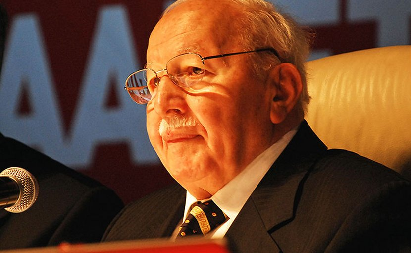 Turkey's Necmettin Erbakan. Photo Credit: Zest, Wikimedia Commons.