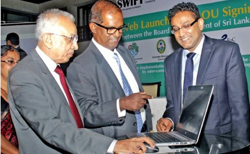 Sri Lanka Launches SWIFT To Facilitate Foreign Investments. Photo Credit: Sri Lanka government.