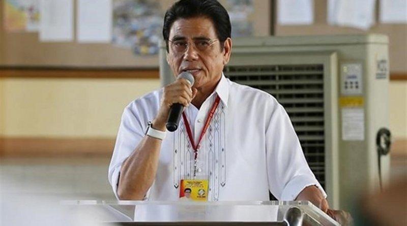 Philippine mayor Antonio Halili. Photo Credit: Tasnim News Agency.