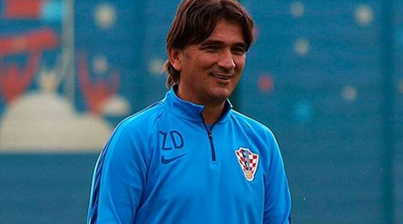 Croatia coach Zlatko Dalic Photo Credit: Wikimedia Commons.