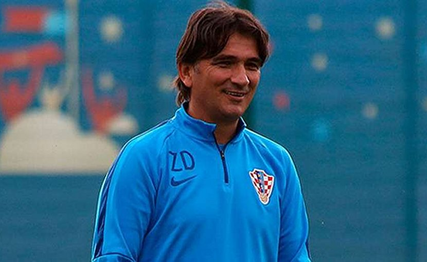 Croatia coach Zlatko Dalic Photo Credit: Wikimedia Commons.
