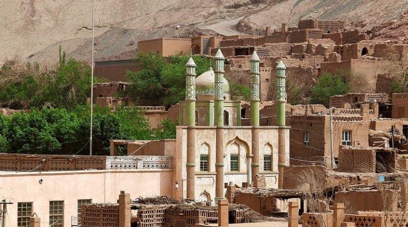 Mosque in Xinjiang, China.