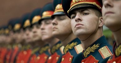 Russian Honor Guard.