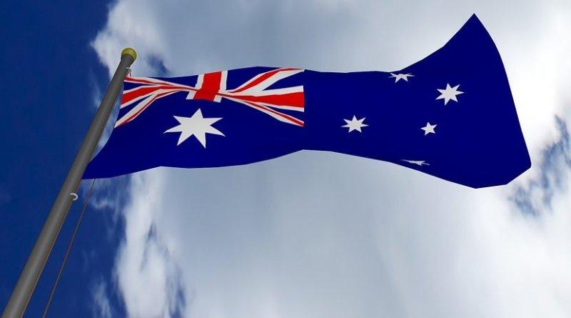 Flag of Australia.