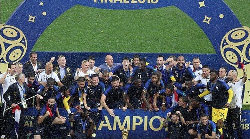 France wins 2018 World Cup. Photo Credit: Meghdad Madadi, Tansim News Agency.