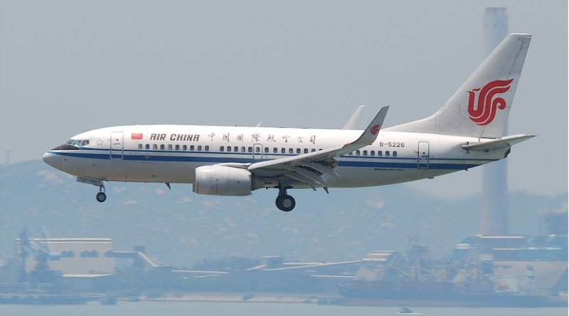 File photo of an Air China 737 plane. Photo Credit: Aero Icarus, Wikimedia Commons.