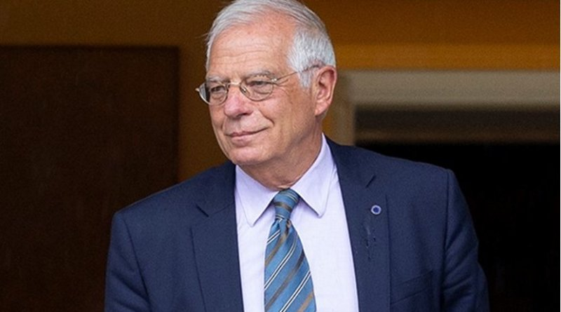 Spain's Josep Borrell. Photo Credit: Ministry of the President. Government of Spain, Wikipedia Commons.