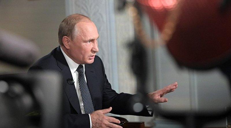 Russia's President Vladimir Putin. Photo Credit: Kremlin.ru.