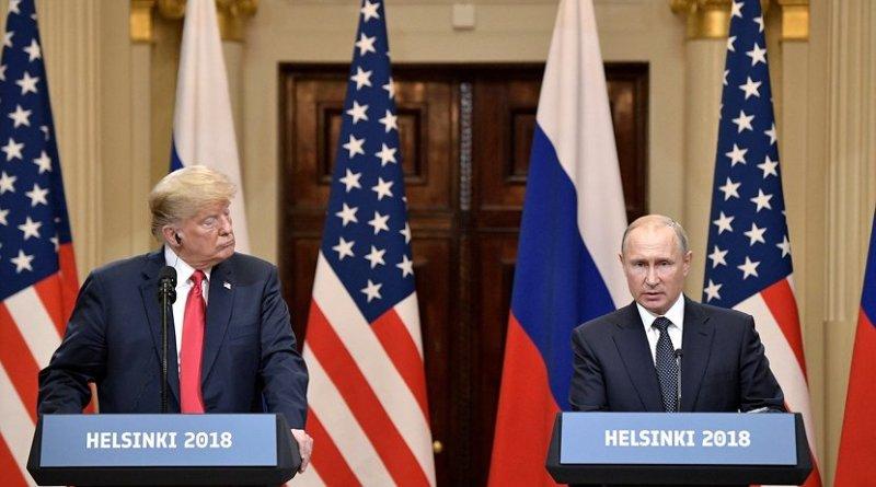 Russia's President Vladimir Putin and US President Donald Trump. Photo Credit: Kremlin.ru