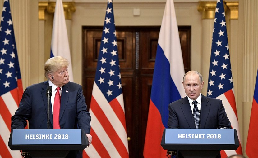 Russia's President Vladimir Putin and US President Donald Trump. Photo Credit: Kremlin.ru