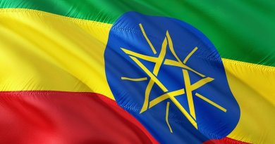 Ethiopia's flag.