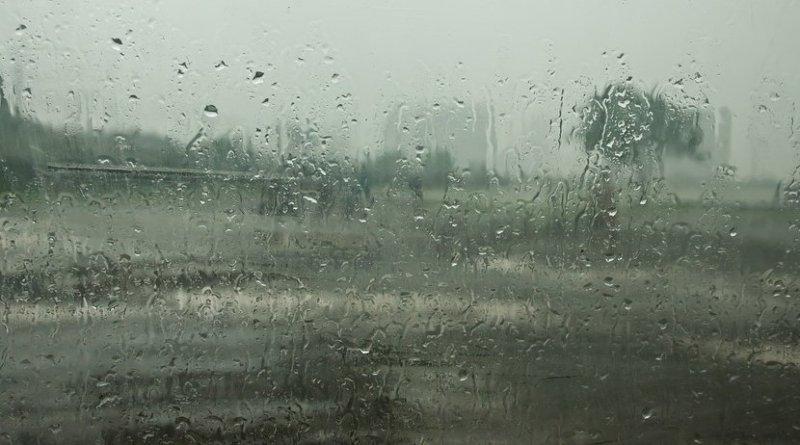 Monsoon season in India.