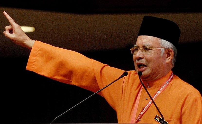 Malaysia's Najib Razak. Photo Credit: Firdaus Latif - UMNO, Wikipedia Commons.