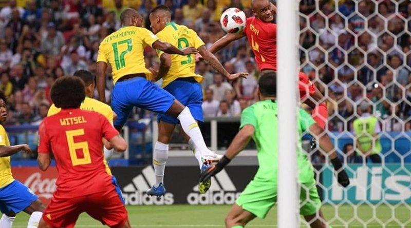 Belgium hands Brazil 1-2 defeat in 2018 World Cup. Photo Credit: Tasnim News Agency