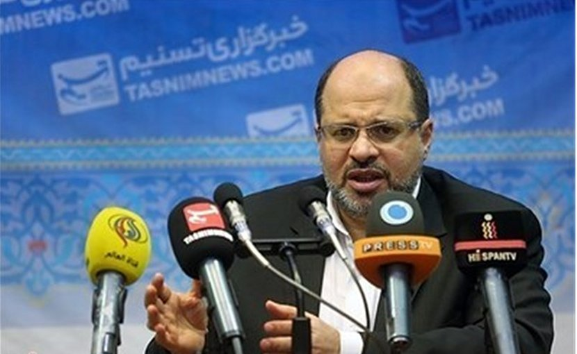 Hamas' Khaled Qadoumi. Photo Credit: Tasnim News Agency.