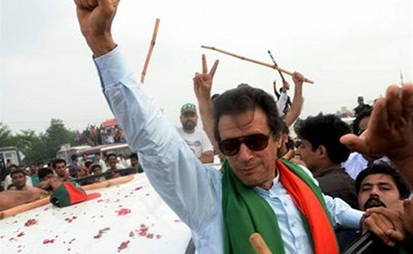 Pakistan's Imran Khan. Photo Credit: Tasnim News Agency.