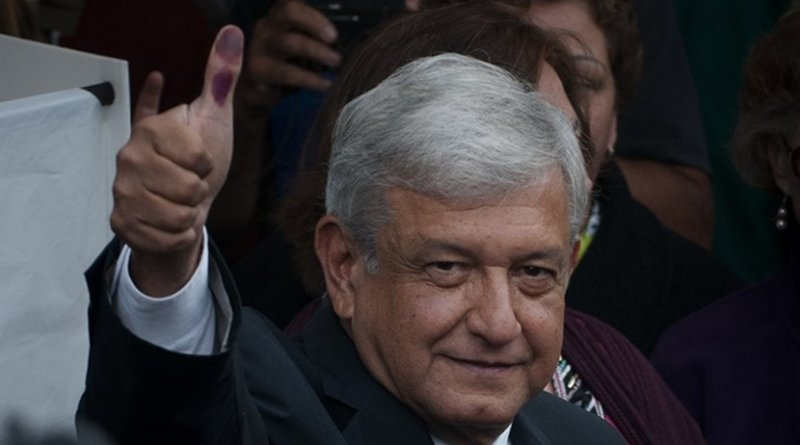 Andrés Manuel López Obrador (AMLO). Photo Credit: Eneas De Troya, https://www.flickr.com/photos/eneas/7479516188